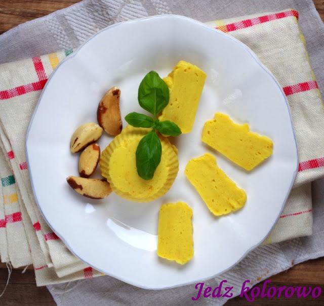 wegański ser żółty, bez soi, bez orzechów