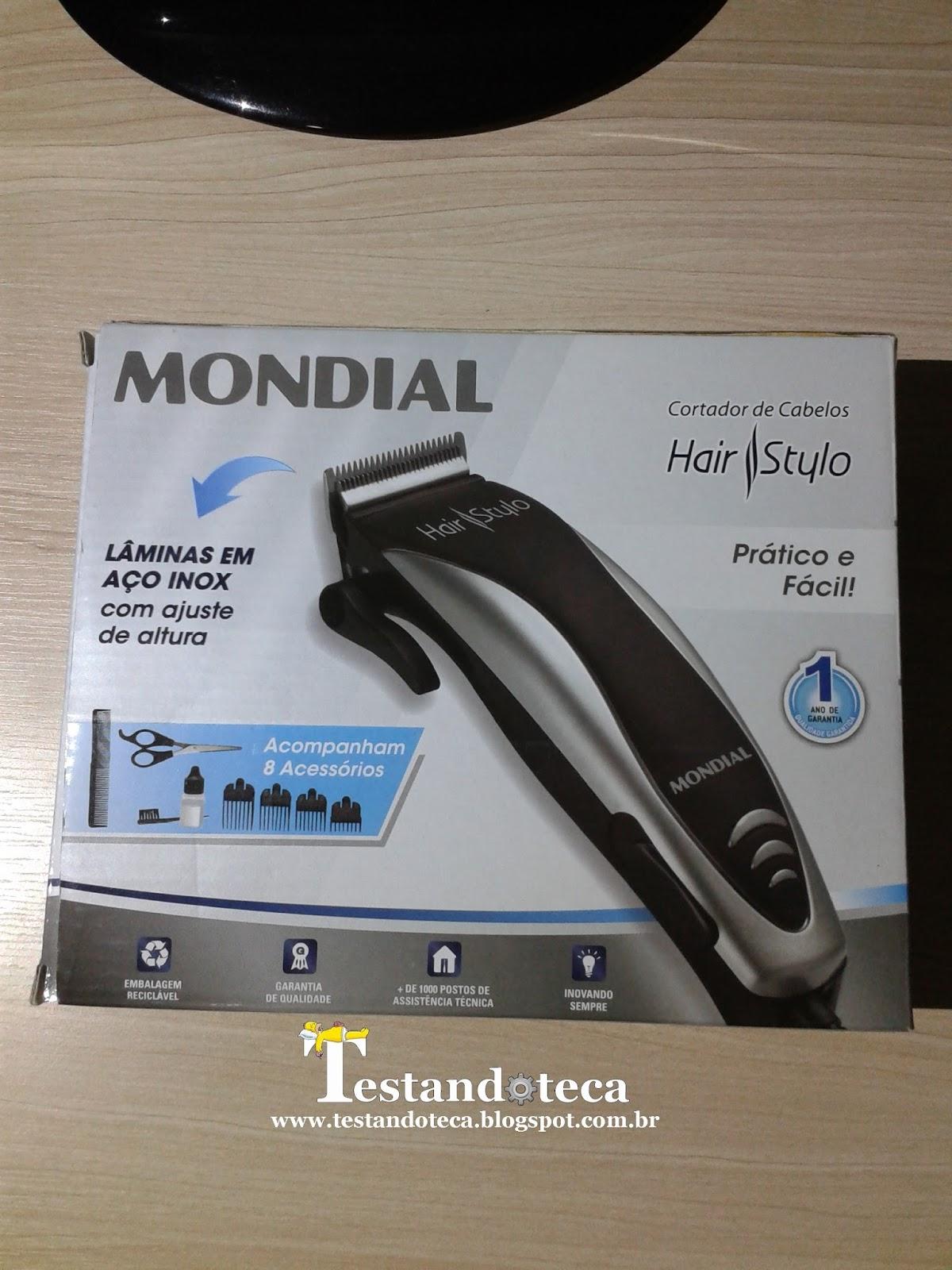 f6fb1681b Testandoteca: Cortador de cabelos Hair Stylo CR-02 da Mondial