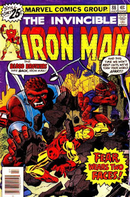 Iron Man #88, the Blood Brothers