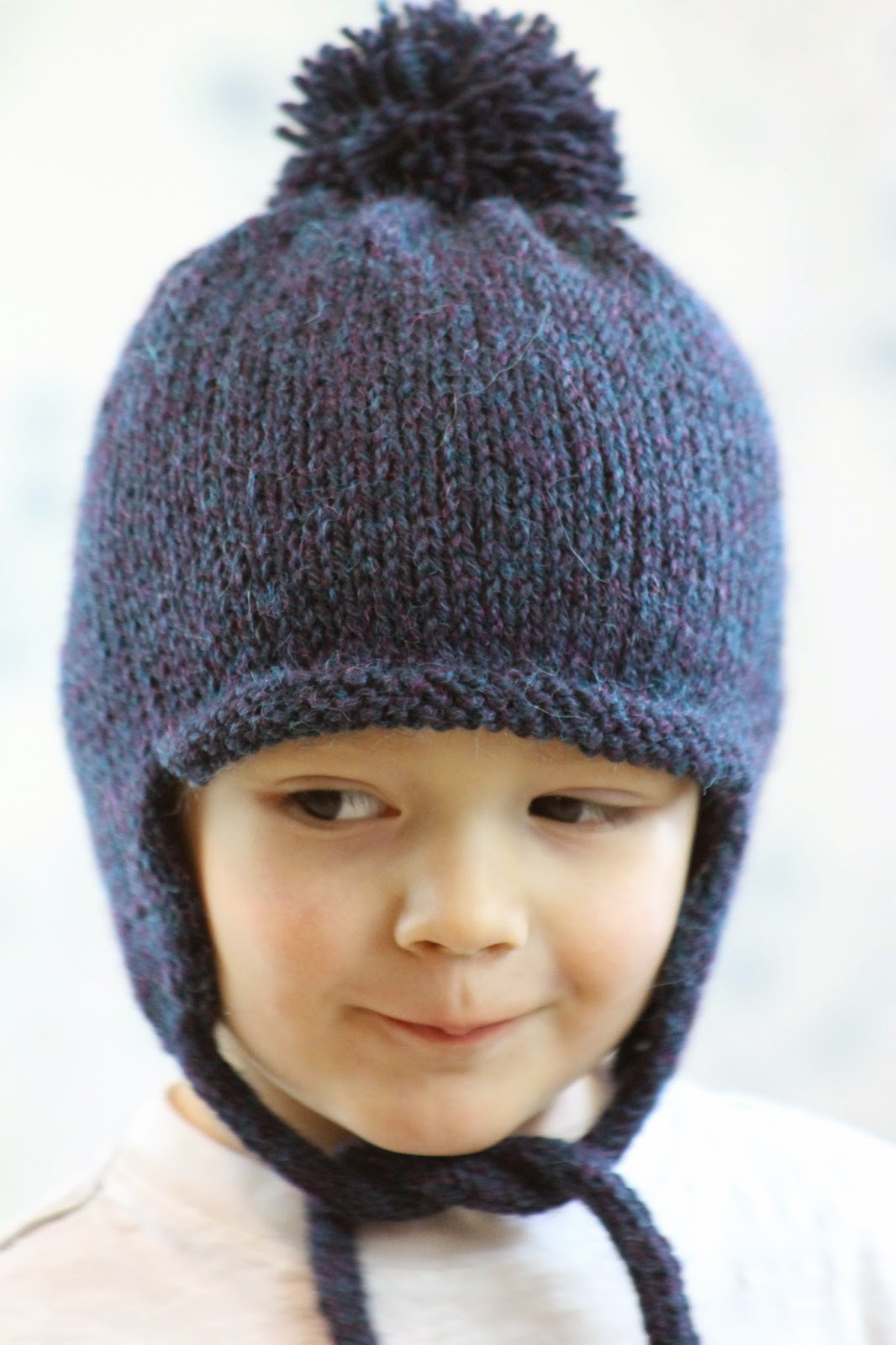 Free Hat Knitting Pattern For 2 Year Old : Balls to the Walls Knits: All in the Family Earflap Hat