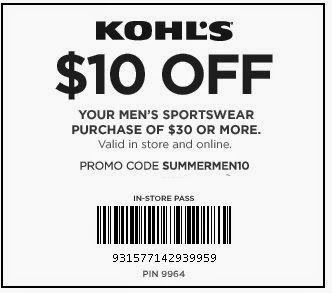 Kohls discount coupons august 2019