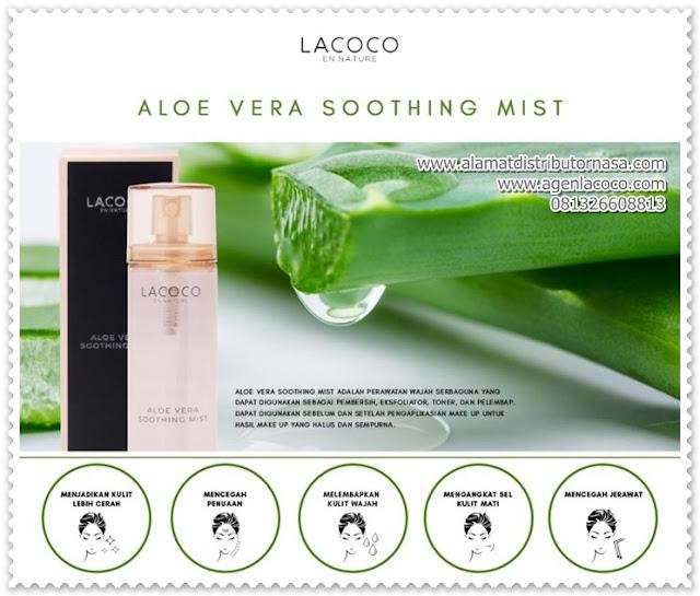 Aloe Vera Soothing Mist from Lacoco En Nature - Produk Perawatan Wajah Serba Guna.
