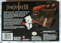 Final Fantasy VI - Caja detrás