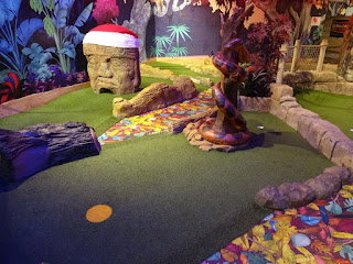 The Lost Valley Adventure Golf course is well worth a play