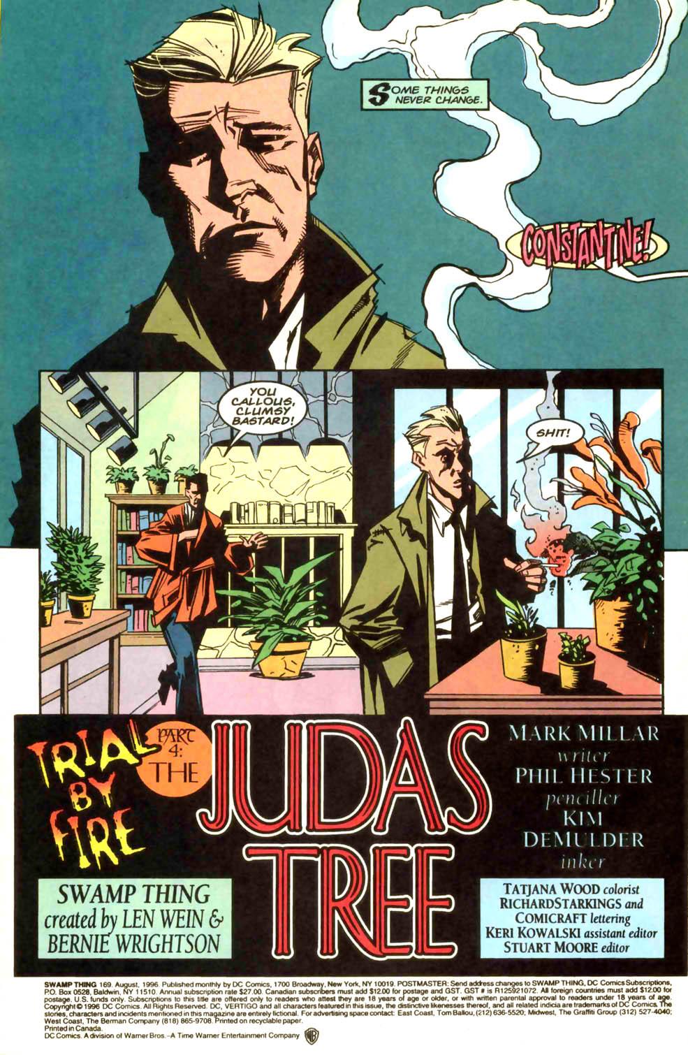 Swamp Thing (1982) #169 #177 - English 3