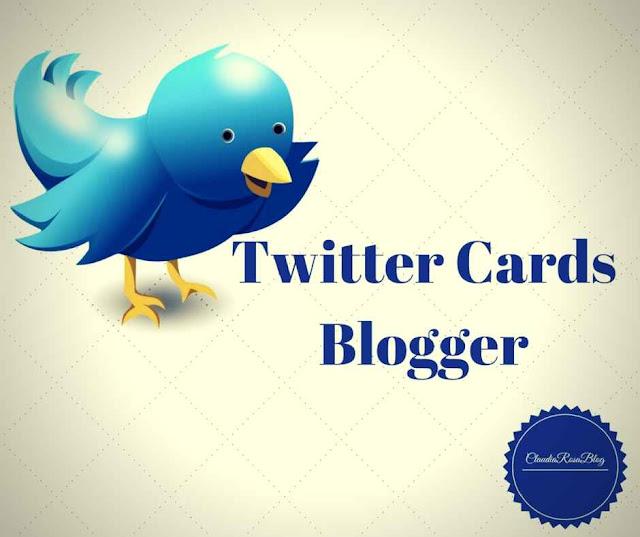 Código de Twitter Cards para Blogger