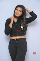Neha Deshpandey in Black Jeans and Crop Top Cute Pics Must see ~  Exclusive Galleries 025.jpg