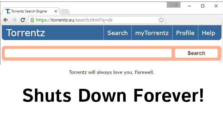 torrentzeu shuts down forever end of biggest torrent