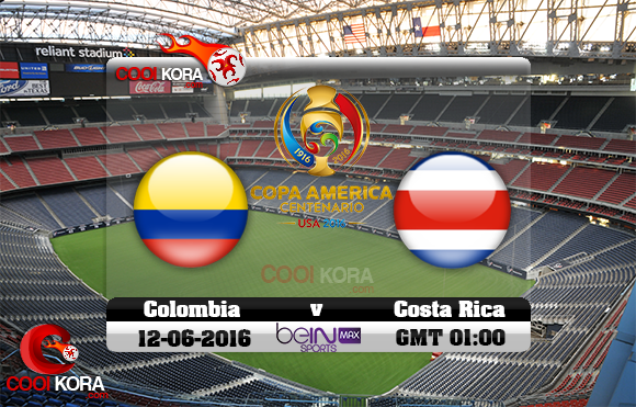 مشاهدة مباراة كولومبيا وكوستاريكا اليوم 12-6-2016 كوبا أمريكا