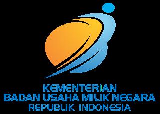 Kementerian BUMN RI Logo Vector