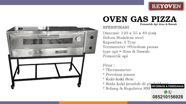 Oven Pizza Pemantik Api Atas Bawah Reyoven