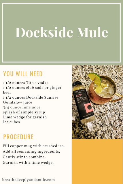 dockside mule recipe