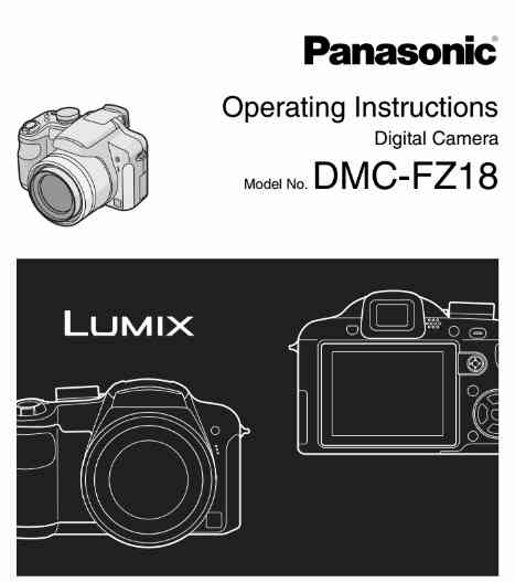 lumix dmc fz8 user manual
