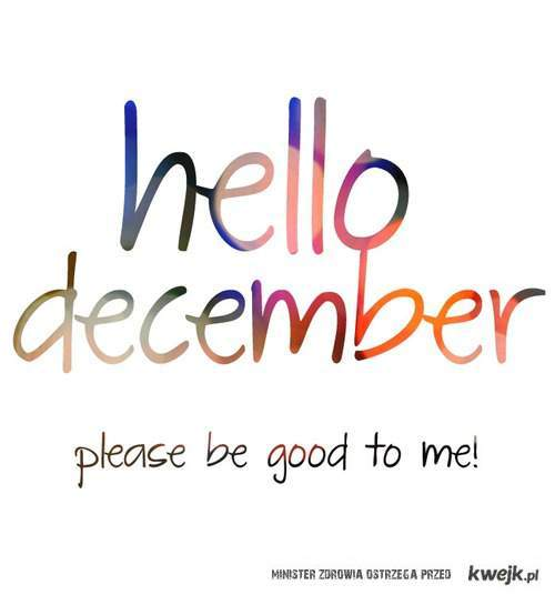Welcome To Desember 2