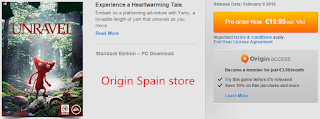 Unravel origin Spain price
