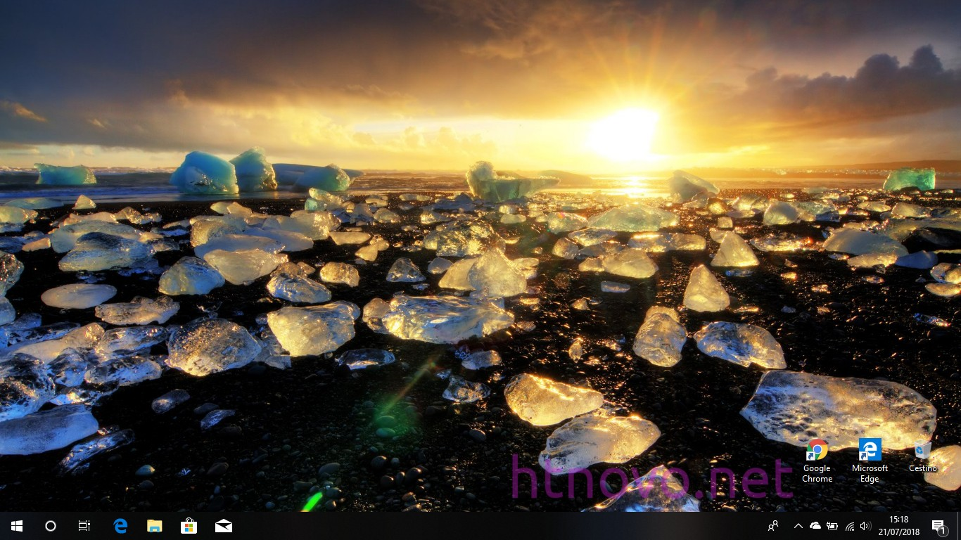 Melting-Ice-Tema-Windows-10