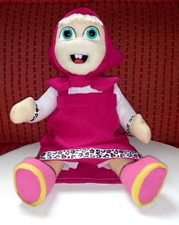 Boneca de pano MASHA