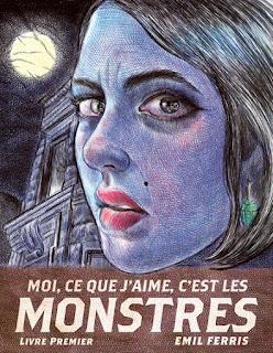 Moi, ce que j'aime, c'est les monstres d'Emil Ferris (éditions Monsieur Toussaint Louverture)