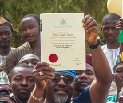 Dino Viral Video - collects certificate