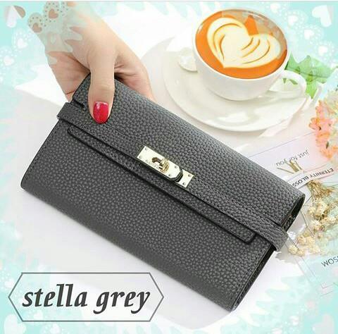 Jims Honey Stella Wallet Grey