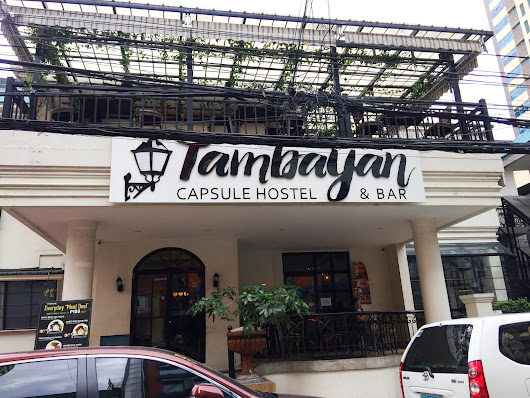 Tambayan Capsule Hostel: Affordable Accommodation in the Heart of Metro Manila