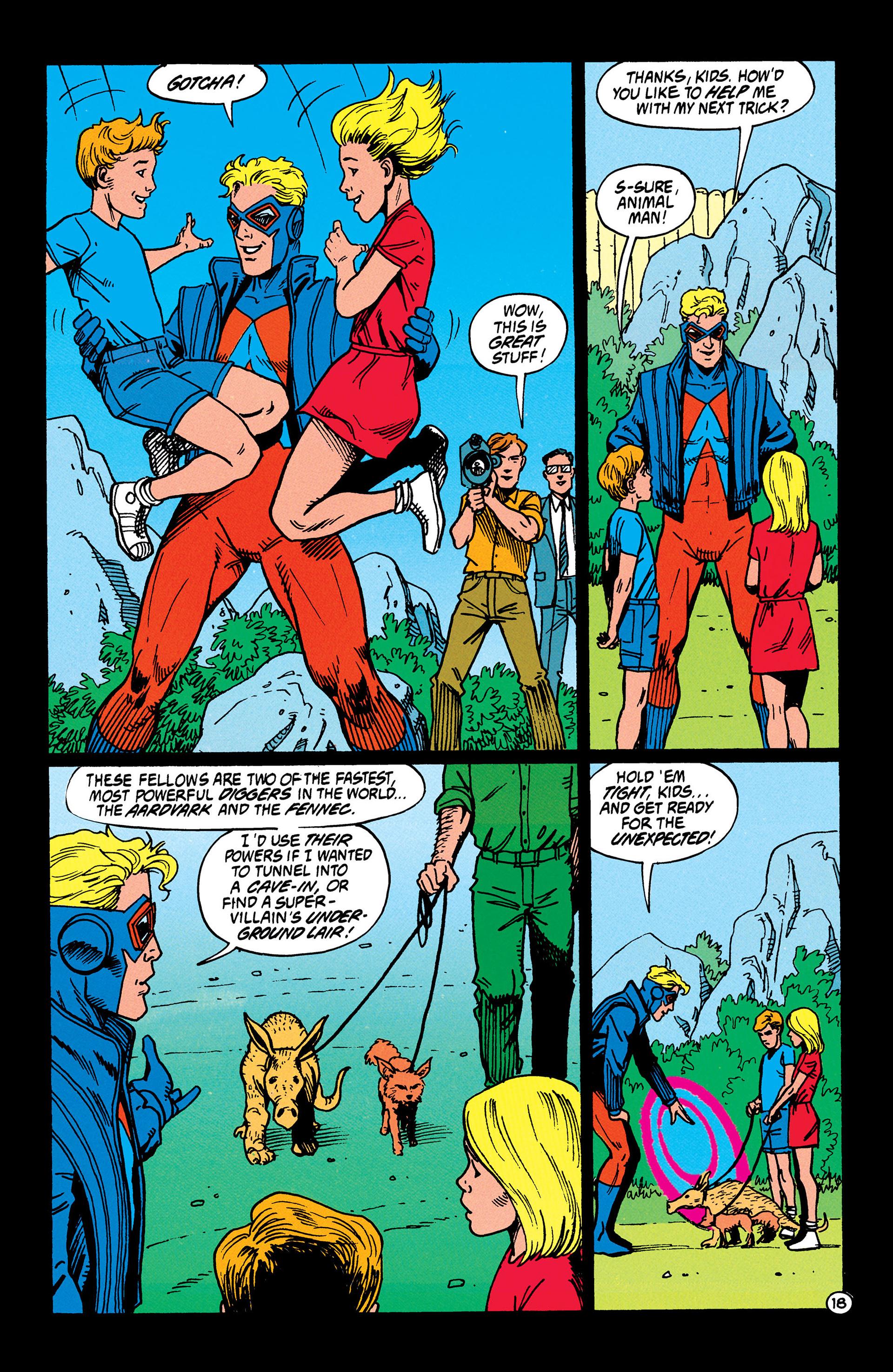 Read online Animal Man (1988) comic -  Issue #37 - 19