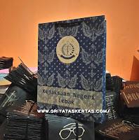 Harga Cetak paper Bag Kantor Bahan Kertas Coklat