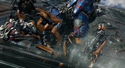 Una imagen de Transformers el último caballero
