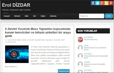 eroldizdar.com wordpress'ten blogger'a aktarıldı