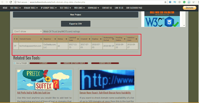 website expiry checker