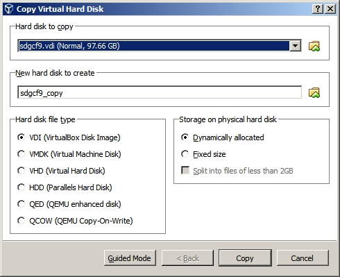 virtualbox expand disk