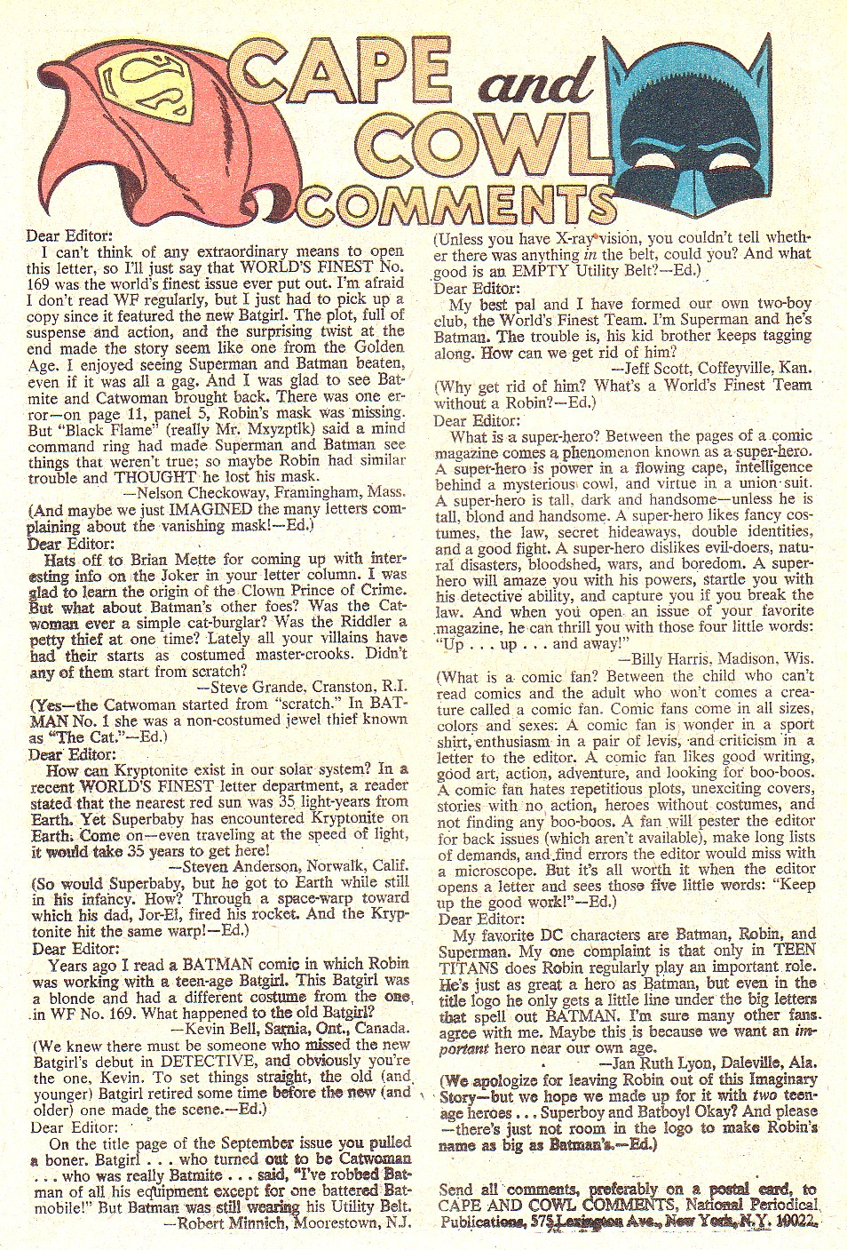 Read online World's Finest Comics comic -  Issue #172 - 26