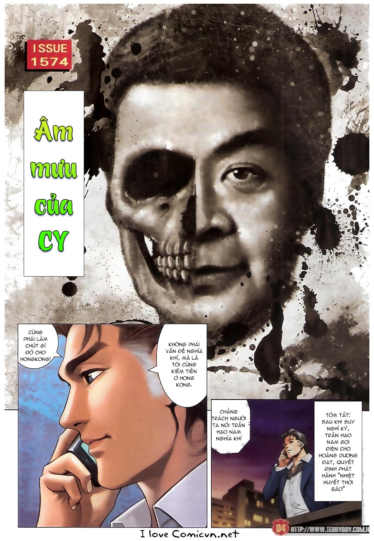 Người Trong Giang Hồ - Chapter 1574: Âm mưu của CY - Pic 2