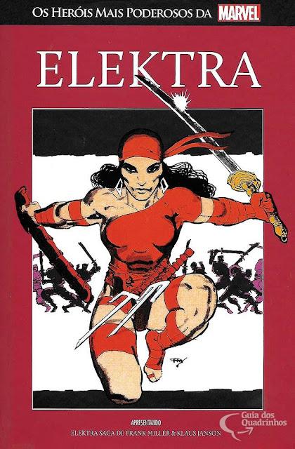 Elektra Saga - uma das séries mais indispensáveis da Marvel!