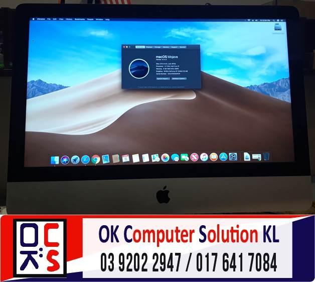 [SOLVED] MASALAH OPERATING SYSTEM (OS) iMAC | REPAIR LAPTOP CHERAS 6