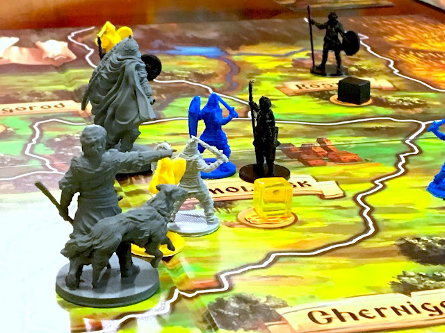 Rurik Dawn of Kiev Board Game by PieceKeeper Games Gameplay mini miniatures