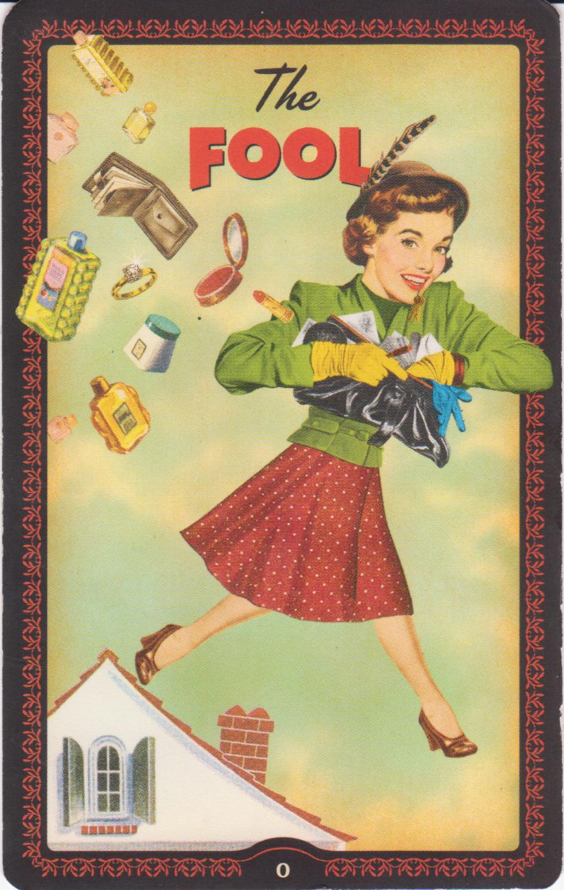 Fool From The Universal Waite Tarot: Tarot Mom: The Faith Of The Fool