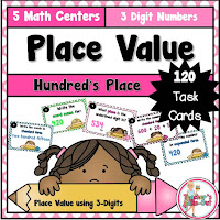 Place Value Unit using 3 Digit Numbers