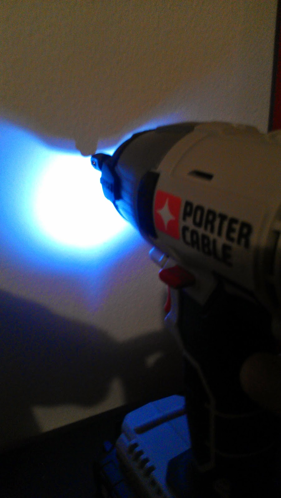 Porter cable 20v impact drill review light