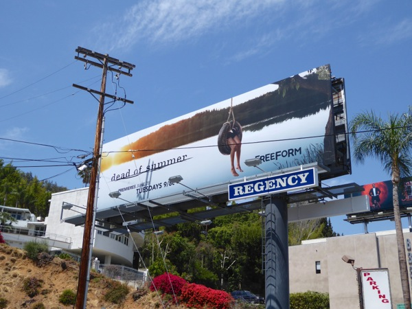 Dead of Summer freeform series billboard