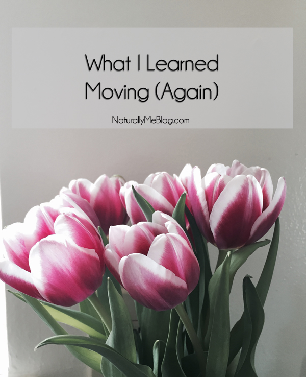 What I Learned Moving, Moving Lessons