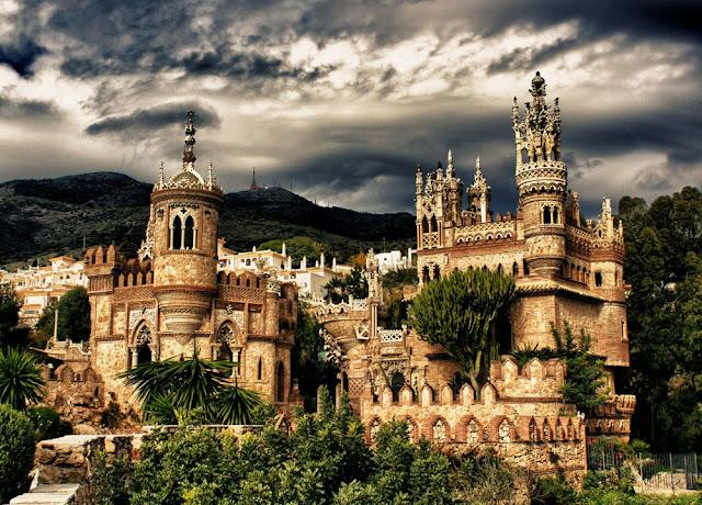 Castle Colomares Spagna