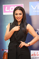 Actress Shraddha Srinath Stills in Black Short Dress at SIIMA Short Film Awards 2017 .COM 0023.JPG
