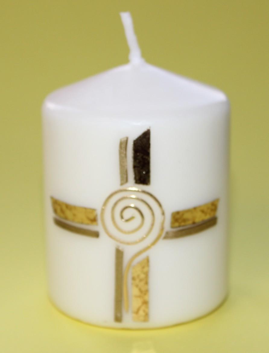 Rosis Kreative Werke Ostern Osterkerze Osterkerzen Basteln Kerzen
