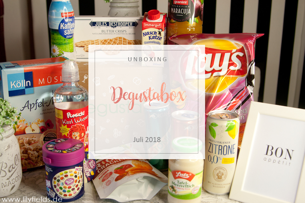 Degustabox - Juli 2018 - unboxing
