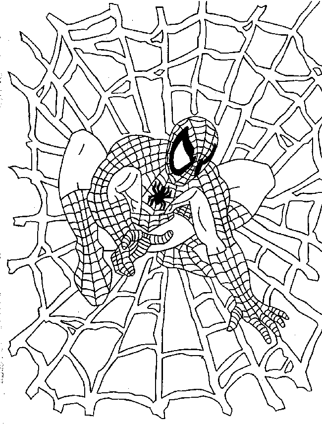 full page coloring pages spiderman 3 | Amy Blogs It All: Planning a Very Spidey 3rd Birthday Party!