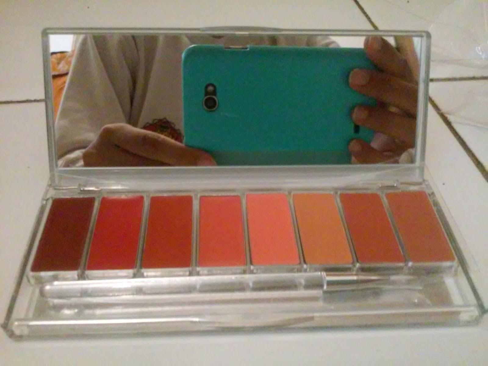Wardah Lip Palette Chocoaholic The Art Of Beauty Pinky Peach Review Halal La Blog