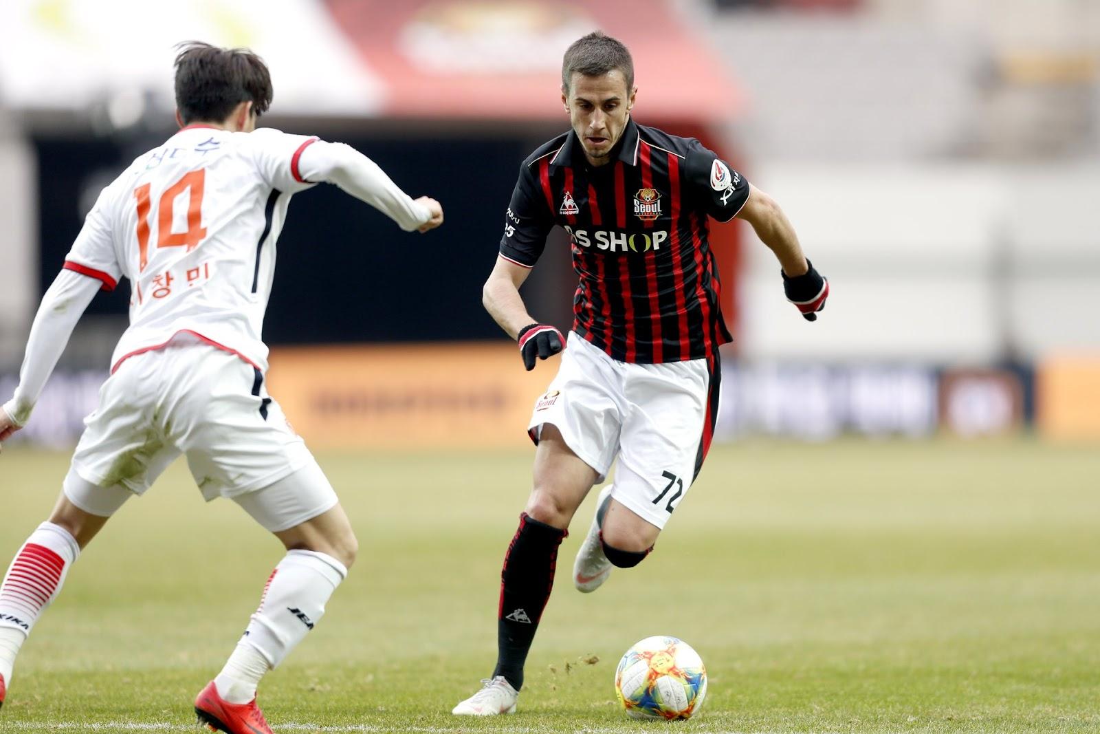 """Interview: FC Seoul's Aleksandar Pešić: """"I like assists, I like dribbling but I like to score."""""""
