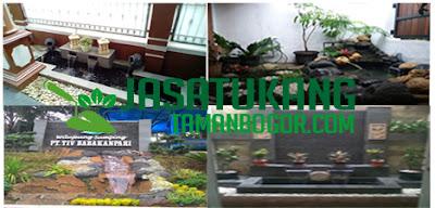 Jasa pembuatan taman,kolam di Jakarta timur