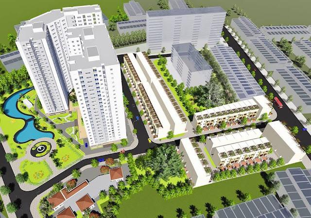 Phối cảnh dự án D'GOLD Vĩnh Lộc